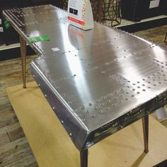 Airplane Wing Table Aircraft Recycled Into Furniture