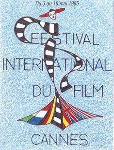Official Festival de Cannes Poster, 1965
