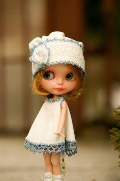Blythe beads hat | by theworldofdolls
