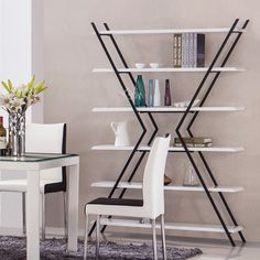 Gia sach go ghs 276 2 Shelf Furniture, Space Saving Furniture, Funky Furniture, Home Decor Furniture, Industrial Furniture, Wood Furniture, Furniture Design, Bookshelves, Bookcase