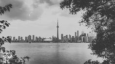 Toronto Skyline II daleholmanmaine.com