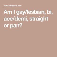 i lesbian quiz a Am