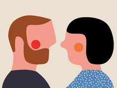 Illustrator Anna Kövecses applies her minimalist style to editorial commissions.