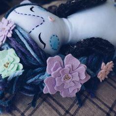 Mukla doll in flowers  #mukladolls #dollmaker #handmadedoll #handmadetoys #ooakdoll