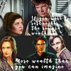 Han And Leia, The Old Republic, The Force Is Strong, Han Solo, Carrie Fisher, Star Wars Humor, Deviant Art, Princess Leia, Long Time Ago