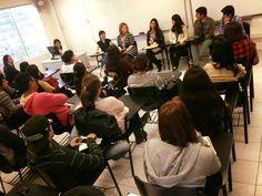 Lourdes Quiroz, Carolina Astete, Andrea Argandoña, Sharon Eom, Diego Aguirre, Bryce Benavides, alumnos comparten sus experiencias laborales
