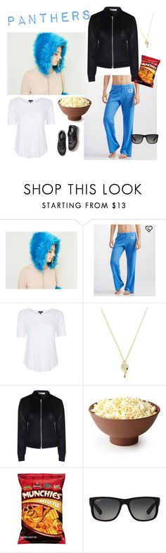 """""""Panthers Super Bowl Party"""" by modernpelage ❤ liked on Polyvore featuring interior, interiors, interior design, home, home decor, interior decorating, Aéropostale, Topshop, Lauren Klassen and STELLA McCARTNEY"""