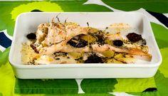 helstekt uer med oliven og timian