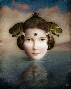 'The Mirror' von Christian Schloe