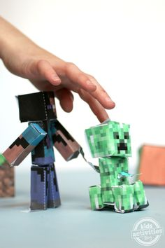 Printable Minecraft Apps bring Minecraft to life for free - Kids Activities Blog