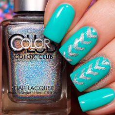 Lovely Nail Designs for Summer 2017 ★ See more: https://naildesignsjournal.com/nail-designs-for-summer/ #nails