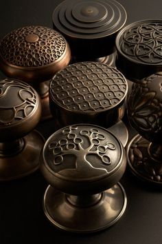 Metal finishes for interior hardware