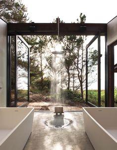Olson Kundig Architects (goCstudio architecture+design). Shadowboxx. Lopez Island, WA, USA. photos: Jason Schmidt & Kevin Scott