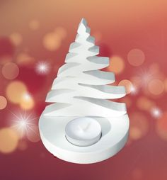 Dremel Projects, Clay Projects, Candle Stand, Wooden Crafts, Xmas Decorations, Christmas Projects, Seasonal Decor, Candles, Holiday