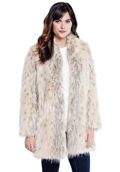 d4ae3e433eeb Red Fox Shawl Collar Faux Fur Jacket - 1. from fabulousfurs.com · Slip into  the dramatic elegance of an Arctic Leopard jacket. Revel in the luxury of