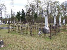 Mount Carmel Church cemetery, Lowndes County, Alabama