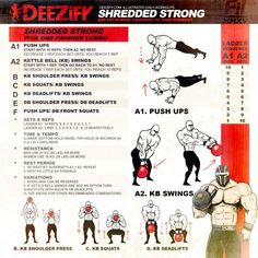 SHREDDED STRONG: add a finisher at the end of your workout to burn that fat and break you down hard. Circuit Training, Training Programs, Weight Training, Strength Training, Workout Programs, Weight Lifting, Get Ripped Workout, Hard Workout, Workout Fitness