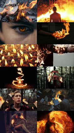 male fire witch aesthetic picspam