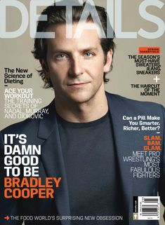Bradley Cooper Covers Details Magazine May 2013