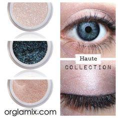 Eyeshadow Kit - Pink - Mineral Makeup Eyeshadow - Eye Shadow Kits Palettes - Natural MAC Cosmetics - Eye Makeup Sets - Vegan Cruelty Free by orglamix Cruelty Free Makeup, All About Eyes, Natural Skin, Natural Makeup, Natural Eyeshadow, Natural Beauty, Eye Candy, Eye Makeup, Make Up