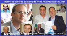 Melhores e piores políticos da Nova Alta Paulista em 2014