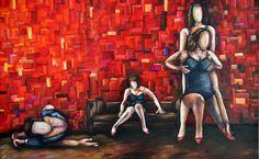 Dance II - Acrylic - 40''x30''