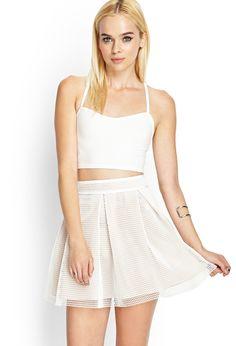 Net Skater Skirt | FOREVER21 #SummerForever