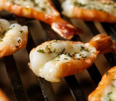 Grilling seafood is easier than you think, with shellfish recipes like Grilled Shrimp and Corn Salad, Lemon-Pepper Shrimp, and Grilled Sea Scallop Kebabs.