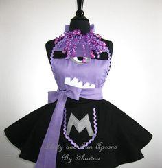 Adult Purple EVIL MINION Costume Apron by FlirtyandFunAprons, $60.00