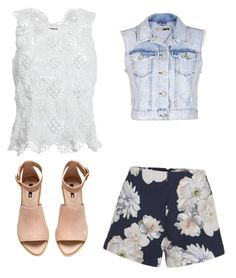 """Untitled #38"" by lookdodia00 on Polyvore featuring Simone Rocha, Finders Keepers, H&M and Topshop"