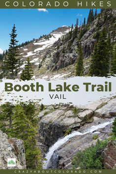 Booth Lake Trail for Hiking Enthusiats! Strenuous and exhilarating. Beautiful from beginning to end with the added bonus of popular 60' Booth Falls! Snowshoe, Rafting, Snowboard, Amazing Destinations, Travel Destinations, Travel Around The World, Around The Worlds, Paradise Travel, Travel Advise
