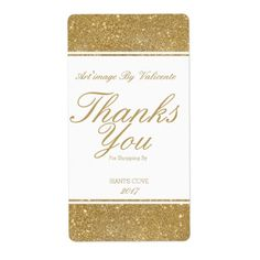ART'IMAGE THANK YOU FOR SHOPPING STICKER