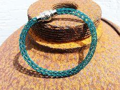Viking Knit - Armband türkis