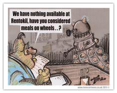 #Dalek #DoctorWho Day 16: Unemployed Dalek