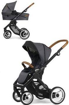 Mutsy Evo Urban Nomad Stroller + Carry Cot Bundle- Dark Grey