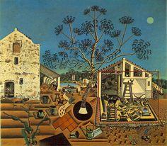 Joan Miró (1893-1983), The Farm (La masia), 1921-22, Oil on canvas, 132 x 147 cm, National Gallery of Art, Washington, D.C