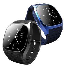 M26 Bluetooth Smart Watch Armbanduhr Smartwatch mit Zifferblatt SMS Erinnern Musik-player Schrittzähler für Android Samsung Smartphones //Price: $US $15.98 & FREE Shipping //     #smartuhren