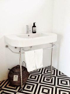 petite salle de bain lavabo leger