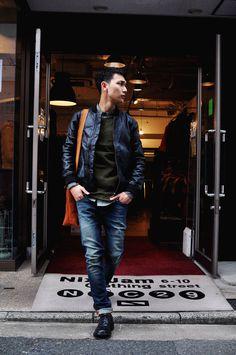 NIX-JAM C*store. Blog: Nudie Jeans CEDRIC Leather Jacket de LOOK
