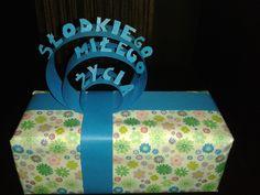 Pomysł na zapakowanie prezentu.