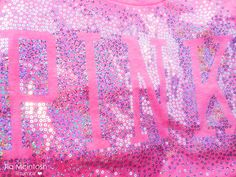 Pink Love, Bright Pink, Pretty In Pink, Victoria Secret Outfits, Victoria Secrets, Vs Pink Wallpaper, All Things Cute, Girly Things, Glitter Girl