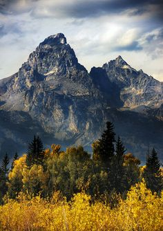 Grand Teton National Park.  Yes, it is that gorgeous!