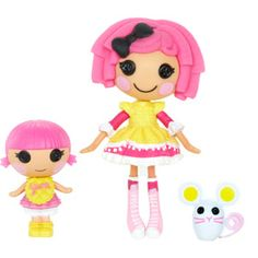 Mini Lalaloopsy Crumbs Sugar Cookie and Lalaloopsy Littles Sprinkle Spice Cookie Dolls with Pet