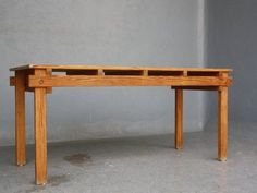 Rietveld military table