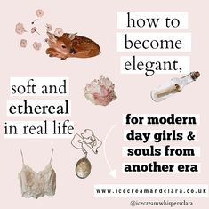How to feel ethereal, how to be elegant and feel like an angel girly aesthetic t… - Beauty is Art Classy Aesthetic, Angel Aesthetic, Aesthetic Makeup, Aesthetic Vintage, Aesthetic Girl, Aesthetic Fashion, Aesthetic Clothes, Look Fashion, How To Be Aesthetic