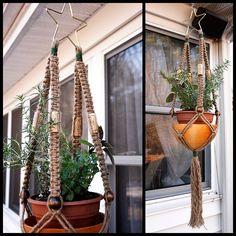 Marcrame Plant Hanger