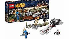 LEGO Star Wars Battle on Saleucami - 75037 Battle the Droid Army on planet Saleucami with this exciting LEGO Star Wars Battle on Saleucami battle pack. Fire the BARC speeders powerful new spring-loaded shooter. and knock down the Droids. Inclu http://www.comparestoreprices.co.uk//lego-star-wars-battle-on-saleucami--75037.asp
