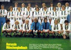 Borussia VfL 1900 e.V. Mönchengladbach, temporada 1972/73. Campeón de la Copa de la UEFA.