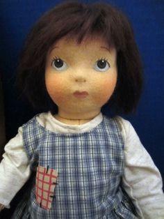 Rose O'Neill Kewpie Friend RAGSY Felt Doll Haut Melton Ltd Edition 250