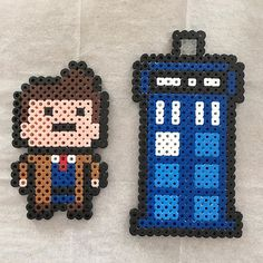 Doctor Who perler beads by  flyfree710
